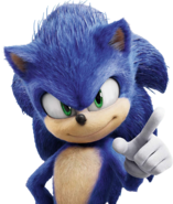 Sonic Film Sonic Artwork 11