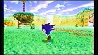 Sonic Jam Japanese commercial (Sega Saturn)