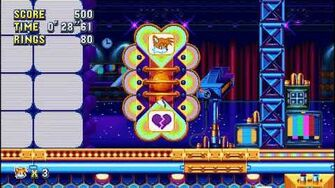 Sonic Mania PC - Unused Love Tester - All Characters, All Outcomes