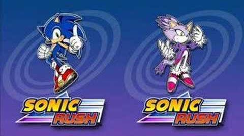 Sonic Rush Music Raisin' Me Up