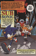 Sonic X issue 21 page 1