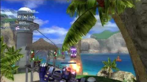 Sonic the Hedgehog 2006 Wave Ocean (Blaze) 1080 HD