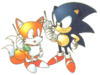 Artwork Sonic y Tails (S2)