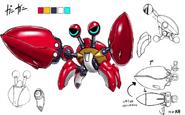 Crabmeat koncept
