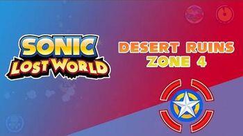 Desert Ruins Zone 4 - Sonic Lost World