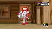 Knuckles dramatic moment