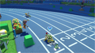 Mario & Sonic at the Rio 2016 Olympic Games - Team Bowser Jr VS Team Tails 4x100m Relay