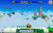 Sky Road (Sonic Runners) - Screenshot 3