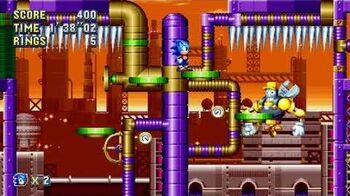 Sonic Mania Boss 18 - Maintenance Robot
