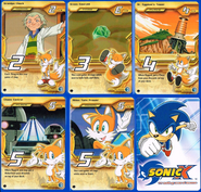 Sonic X tcg Rare 106-110