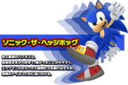 Sonic bio Lost World