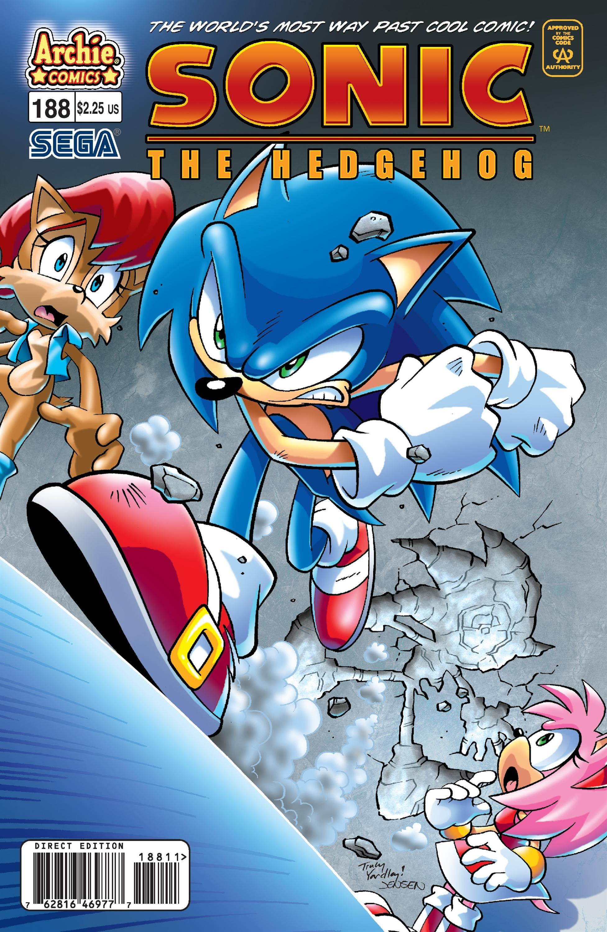 Archie Sonic The Hedgehog Issue 188 Sonic News Network Fandom