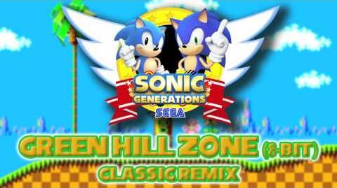 Green Hill Zone (8-Bit) Classic - Sonic Generations Remix