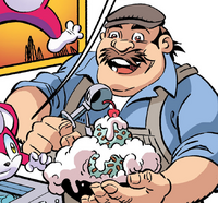 Ice Cream Vendor Archie