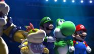 Mario Sonic Olympic Winter Games Festival Mode Ending 06