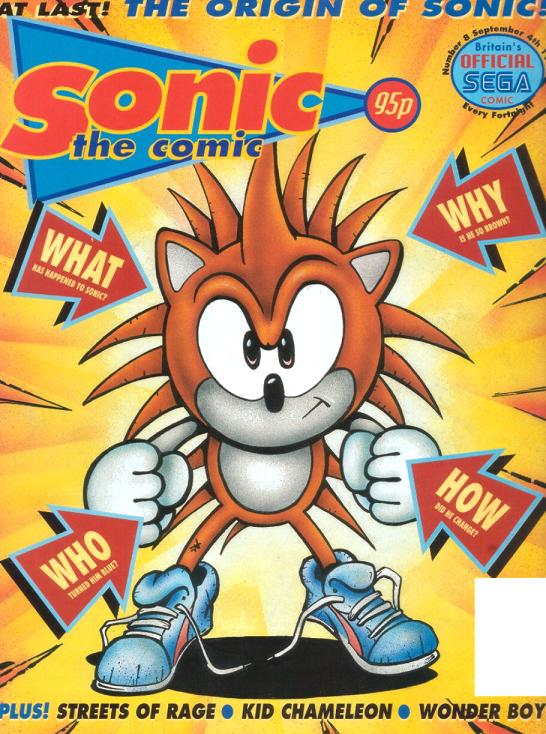 sonic the comic issue 8 sonic news network fandom powered by wikia