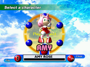 Sonic Adventure Character Select DC 4