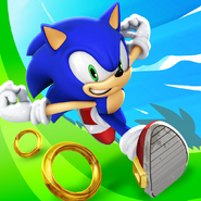 Sonic Dash current icon