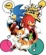 Sonic Jam arte promocional 3