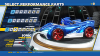 Sonic Monster Treads Wheels