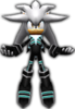 Sonic Rivals 2 - Silver the Hedgehog costume 1