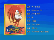 Sonic X karta 90