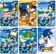 Sonic X tcg Common 031-035
