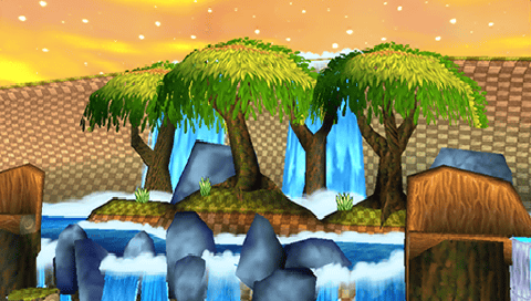 File:Sunset Forest Background 3.png
