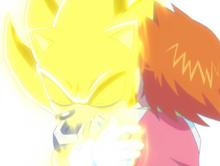 Super Sonic hugs Chris ep 26