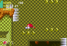 Knuckles and his tough life with spikes
