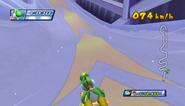 Mario Sonic Olympic Winter Games Gameplay 090