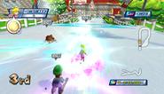 Mario Sonic Olympic Winter Games Gameplay 157