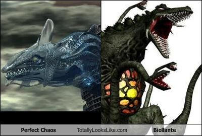 Perfect Chaos Totally Looks Like Biollante