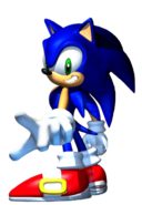 SA Sonic 3D art 5