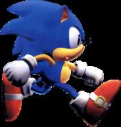 Sonic R art 4