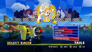 Sonic and Sega All Stars Racing character select 20