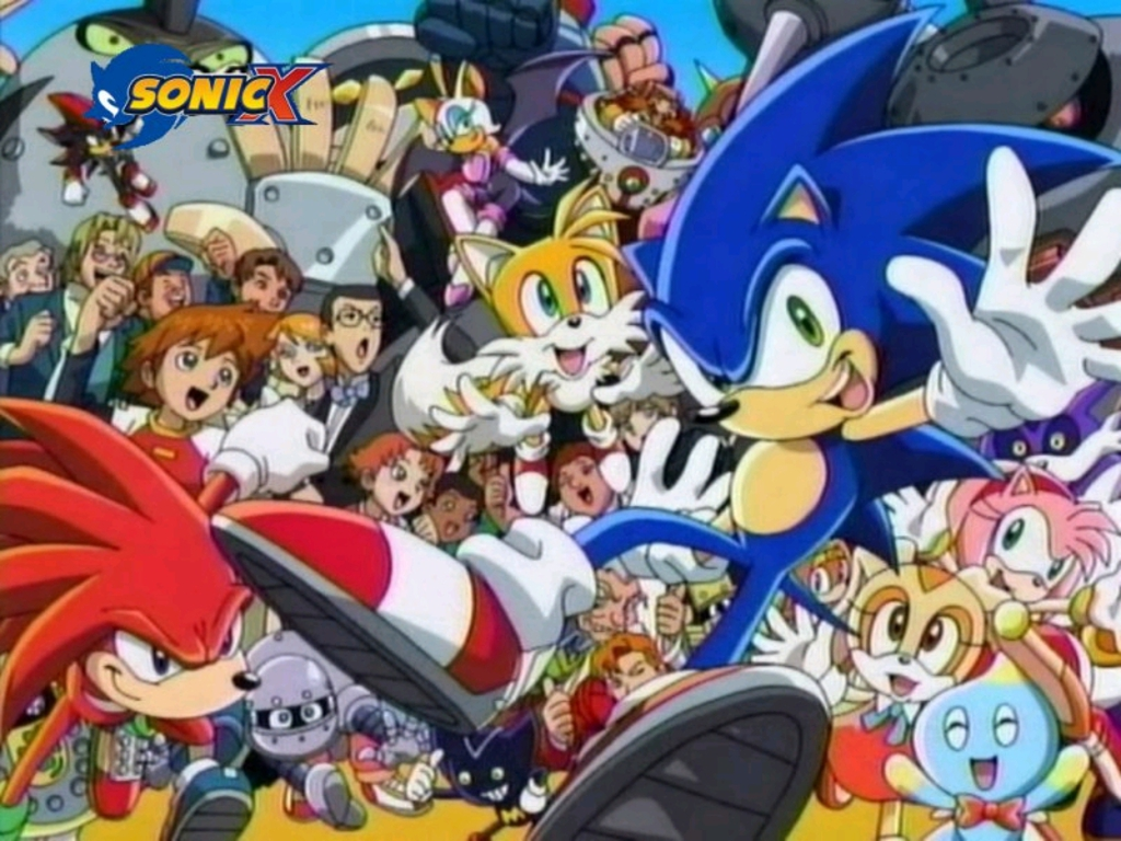 Sonic X Wallpaper Yvt2JPG