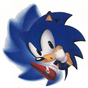 Spin Attacking Sonic