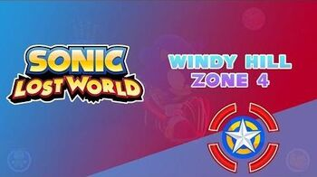 Windy Hill Zone 4 - Sonic Lost World