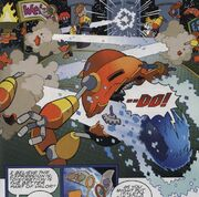 Cyan Laser Archie Comics
