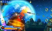 Red Burst Jumping Sonic Generations