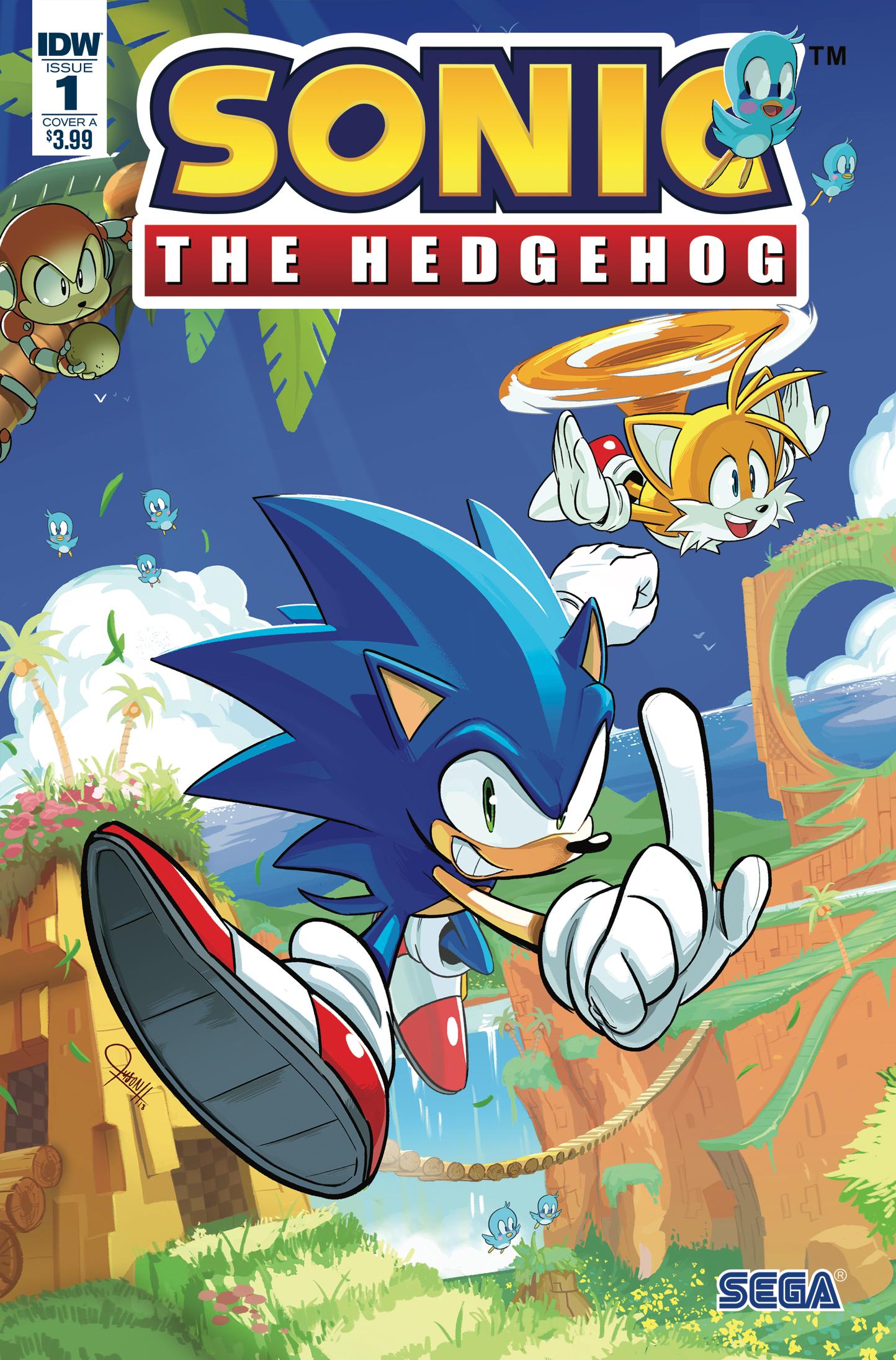 idw sonic the hedgehog issue 1 sonic news network fandom powered