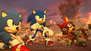 Sonic Forces E3 trailer 1