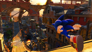 Sonic Forces poziom 1