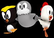 Sonic Runners Cucky Rocky Pecky