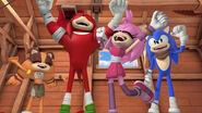 YAIBO Team Sonic cheer