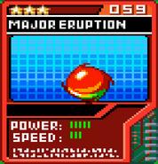 Major Eruption