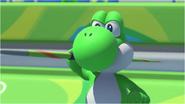 Mario & Sonic at the Rio 2016 Olympic Games - Yoshi Javelin Throw