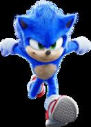 Sonic Film Sonic Artwork 15