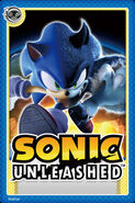 Sonic Unleashed Card